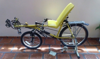 Bicicleta Custom, Recumbent Bike