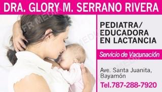 Dra. Glory M. Serrano Rivera