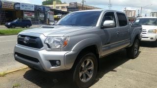 Toyota Tacoma PreRunner Plateado 2014