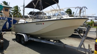 Boston Whaler Center Console 20'