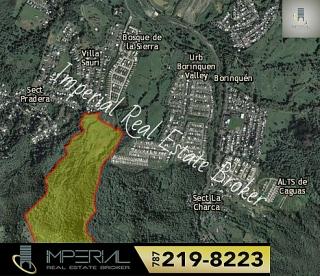 Terreno de 81.584 cuerdas en la Urbanización Bosque de La Sierra en Borinquén, Caguas