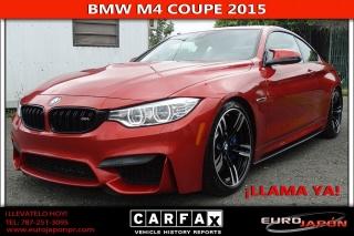 BMW M 4 Rojo 2015