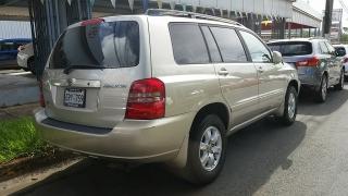 Toyota Highlander Dorado 2002