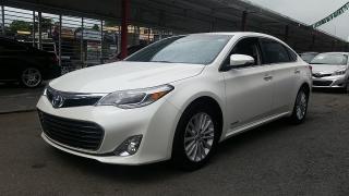 Toyota Avalon Hybrid XLE Premium Blanco 2013