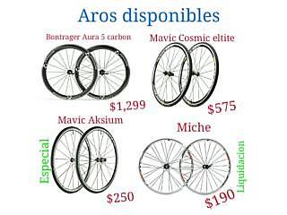 Gran Variedad en Aros para Bicicletas al mejor precio