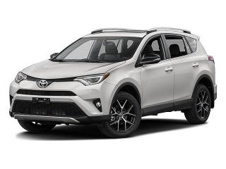 Toyota Rav4 Se White 2016