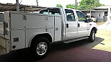 Ford Duty ford 250 xl diesel  4x4 utility bed 2004 Blanco
