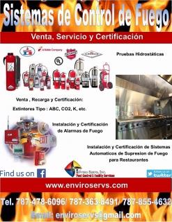 Sistemas de Control de  Fuego
