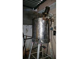 Tanque S.S.90gl.con Mixer