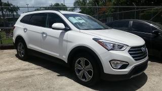 Hyundai Santa Fe SE Blanco 2016