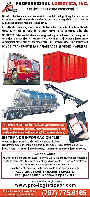 Professional Logistics, Inc.