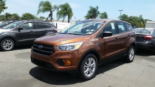 Ford Escape S Anaranjado 2017