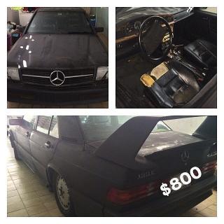 Se vende Mercedes-Benz 1987