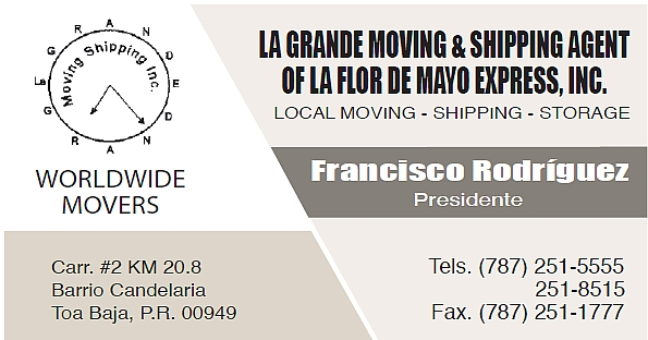 La Gran Moving Shipping, Inc.