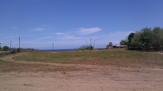 832 sqm ocean view lot not on cliff, but fair view at Isabela
