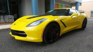 Chevrolet Corvette 3lt Black 2016
