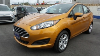 Ford Fiesta Se Yellow 2016