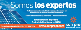 Sun Pro P.R. Renewable Energy Solutions