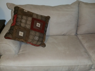 NUEVO juego de sala incluye love seat sofa
