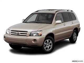 Toyota Highlander W/3rd Row 2006