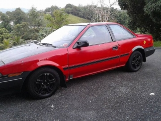 Toyota COROLLA 1989 Rojo