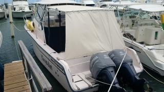 She vende Grady White 30 -nitida