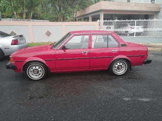 Toyota Corrolla 1982 Rojo