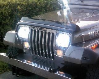 Vicera de bonete para jeep