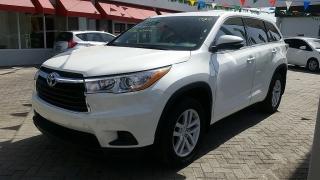 Toyota Highlander LE Blanco 2015