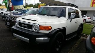 Toyota Fj Cruiser Blanco 2011