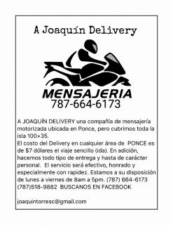 A Joaquín Delivery