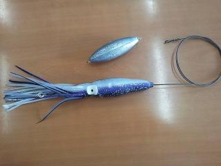 Nuevo para los Petos (Wahoo) hook 8/0 plomo 18 o/z cable 600LB