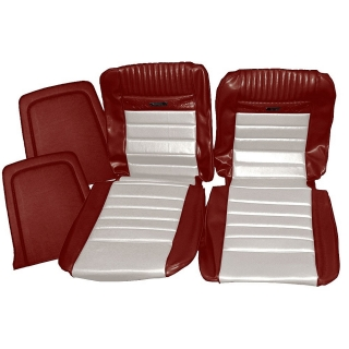 Mustang 1965-1966 Upholstery Pony Interior Full Set With Front Bucket