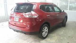 Nissan Rogue S Rojo 2015