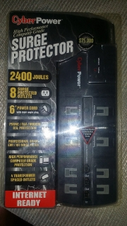 Cyber Power SURGE PROTECTOR