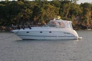 Chaparral Signature 35 '01- Twin Mercs 5.7L / gen