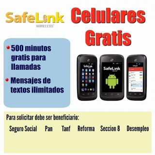 Celulares Safelink Gratis