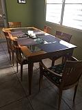 Vendo juego de comedor de 6 sillas