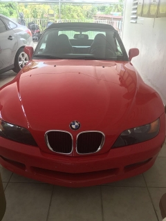 BMW Z3 1996 Rojo