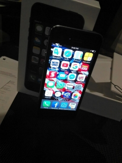 iPhone 5s touch I'd d claro