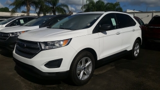 Ford Edge SE Blanco 2016