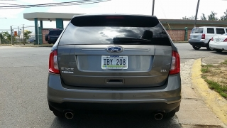 Ford Edge SEL Gris Oscuro 2013