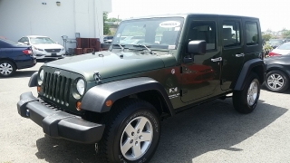 Jeep Wrangler Unlimited X Verde 2009
