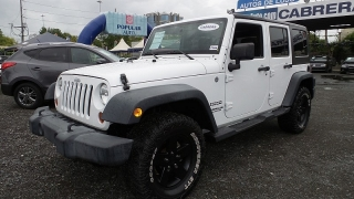 Jeep Wrangler Unlimited Sport Blanco 2012
