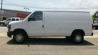 Ford Econoline Cargo Van Commercial Blanco 2011