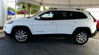 Jeep Cherokee Limited Blanco 2016