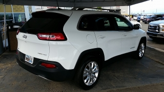 Jeep Cherokee Limited Blanco 2016