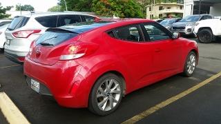 Hyundai Veloster Rojo 2016