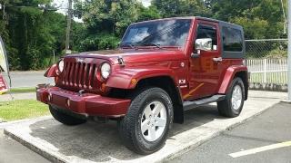 Jeep Wrangler X Rojo Vino 2009