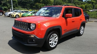 Jeep Renegade Latitude Anaranjado 2016